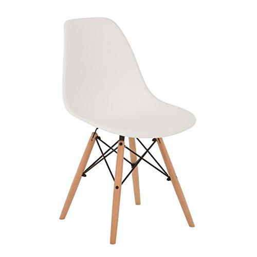 Stuhl ims weiss 2xst hlen mehr farben sklum skandinavische m bel - Sillas blancas ikea ...