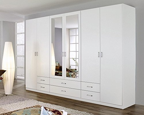 rauch 5f64 dreht renschrank 6 t rig b 271 h 210 t 54 cm korpus front alpinwei. Black Bedroom Furniture Sets. Home Design Ideas