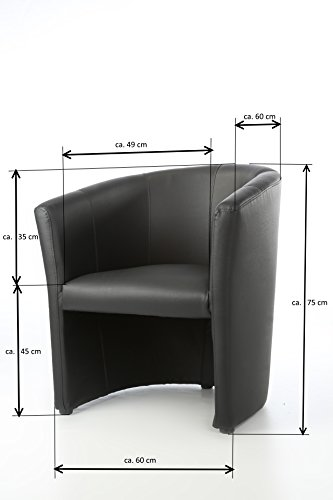 design cocktailsessel sessel clubsessel loungesessel club m bel b rosessel praxism bel braun. Black Bedroom Furniture Sets. Home Design Ideas