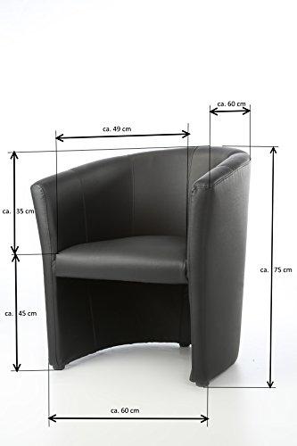 design cocktailsessel sessel clubsessel loungesessel club m bel b rosessel praxism bel braun. Black Bedroom Furniture Sets. Home Design Ideas