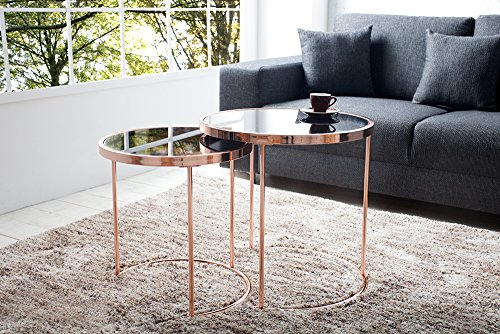 couchtisch beistelltisch wohnzimmertisch alfa team 2er set. Black Bedroom Furniture Sets. Home Design Ideas