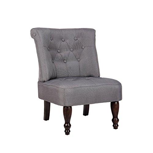 vidaxl sessel grau gefasstener gem tlicher sessel. Black Bedroom Furniture Sets. Home Design Ideas