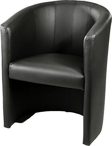 design cocktailsessel sessel clubsessel loungesessel club m bel b rosessel praxism bel schwarz. Black Bedroom Furniture Sets. Home Design Ideas
