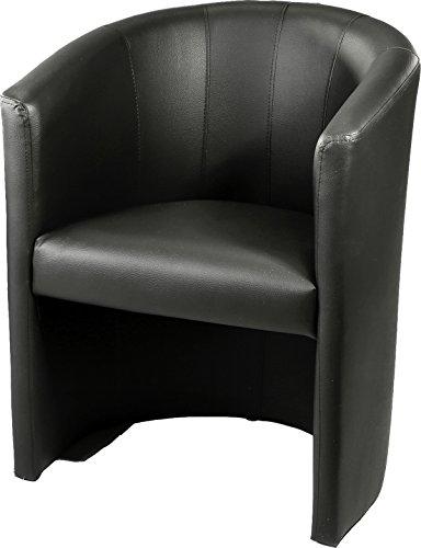 design cocktailsessel sessel clubsessel loungesessel club m bel b rosessel praxism bel schwarz. Black Bedroom Furniture Sets. Home Design Ideas