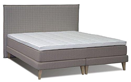 boxspringbett lavongai box holz matratze taschenfederkern topper schaumstoff abmessung. Black Bedroom Furniture Sets. Home Design Ideas