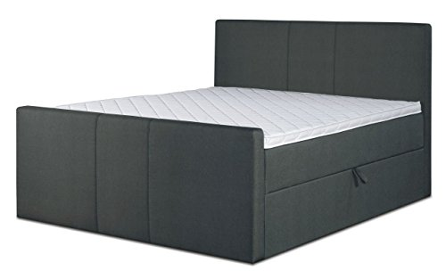 boxspringbett soisalo box staukasten matratze taschenfederkern topper schaumstoff. Black Bedroom Furniture Sets. Home Design Ideas