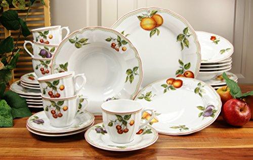 Creatable 17032 Serie Flora Orchard, Kombiservice 30-teilig