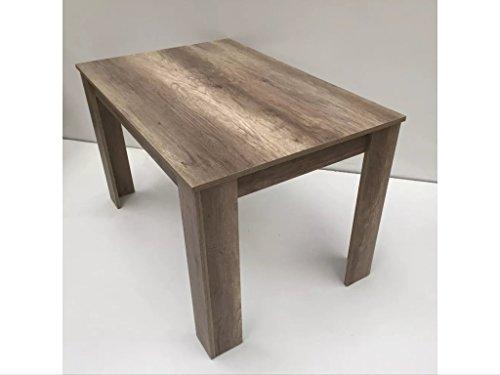 esstisch wildeiche 120x80 skandinavische m bel. Black Bedroom Furniture Sets. Home Design Ideas