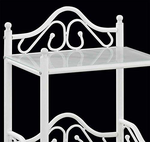 nachtkommode nachttisch weiss landhaus juan pharao24 0 0 skandinavische m bel. Black Bedroom Furniture Sets. Home Design Ideas