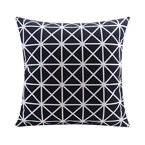 skandinavischen stil geometrischen samt kissen kissen im b ro lendenkissen schwarze und wei e. Black Bedroom Furniture Sets. Home Design Ideas