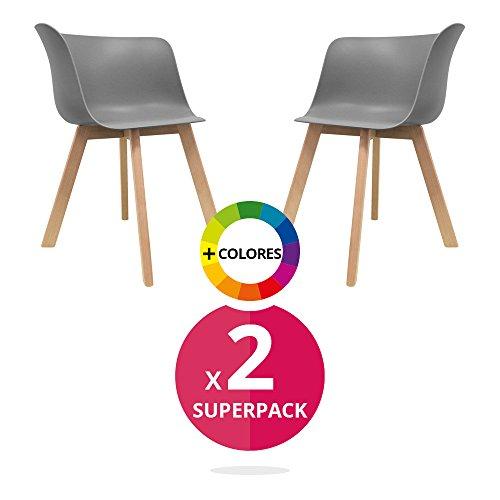 Stuhl skandinavischer bettbezug pack 2 stuhl stuhl for Sessel scandi