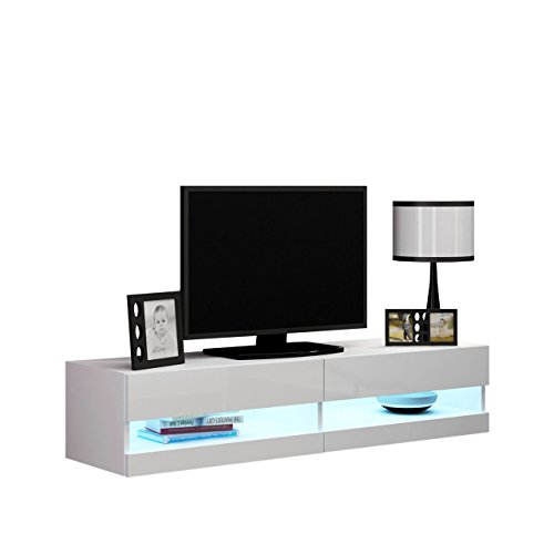 tv board vigo new 140 tv tische tv lowboard tv schrank fernsehschrank h ngeschrank. Black Bedroom Furniture Sets. Home Design Ideas