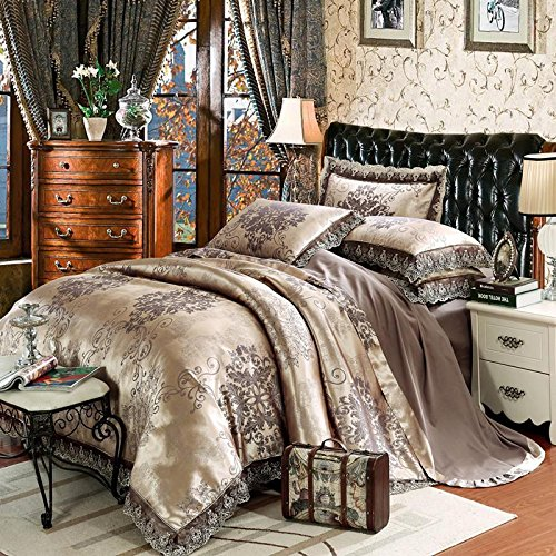 europ ische tencel tribute satin jacquard baumwolle vier. Black Bedroom Furniture Sets. Home Design Ideas