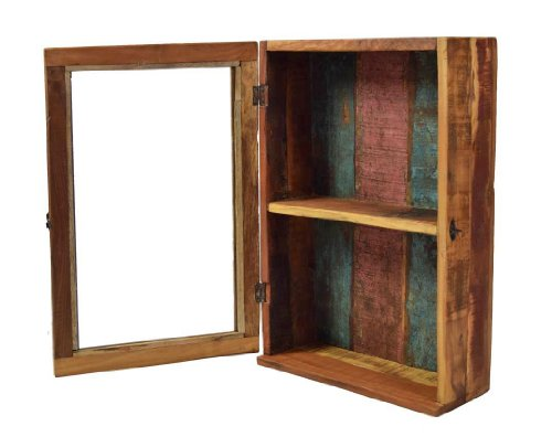 h ngeschrank medizinschrank recyceltes holz skandinavische m bel. Black Bedroom Furniture Sets. Home Design Ideas