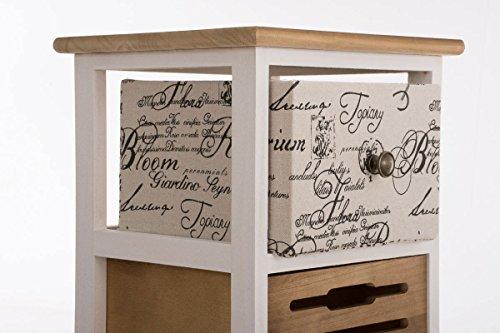 Clp telefontisch flurschrank tamara landhausstil 2 for Flurschrank landhausstil