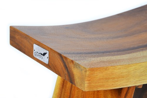 nexos divero hocker suar holz sitzhocker holzhocker massiv reine handarbeit skandinavische m bel. Black Bedroom Furniture Sets. Home Design Ideas