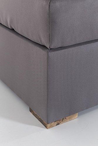 woodkings boxspringbett hastings 180x200 hotelbett polsterbett doppelbett bonellfederkern. Black Bedroom Furniture Sets. Home Design Ideas