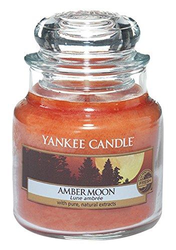 Yankee Candle Classic Housewarmer Klein, Amber Moon, Duftkerze, Raum Duft im Glas / Jar, 1315049E