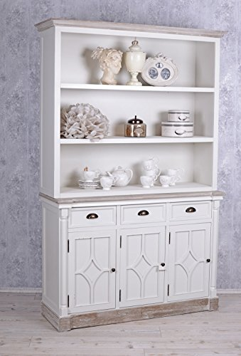 grosser b cherschrank shabby chic regal weiss b cherregal vintage skandinavische m bel. Black Bedroom Furniture Sets. Home Design Ideas