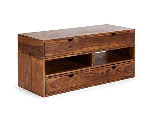 massivum tv schrank country 120x55x47 cm palisander braun lackiert skandinavische m bel. Black Bedroom Furniture Sets. Home Design Ideas