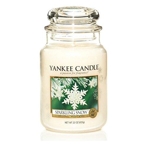 Yankee Candle 1144158E Housewarmer groß Sparkling Snow, 623 g