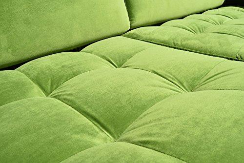sofa venice vintage samt gr n 2 sitzer 190 skandinavische m bel. Black Bedroom Furniture Sets. Home Design Ideas