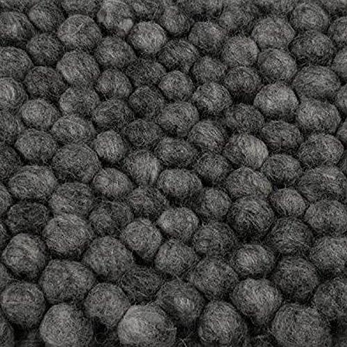 hay teppich peas dark grey 240cm x 170cm 1 skandinavische m bel. Black Bedroom Furniture Sets. Home Design Ideas