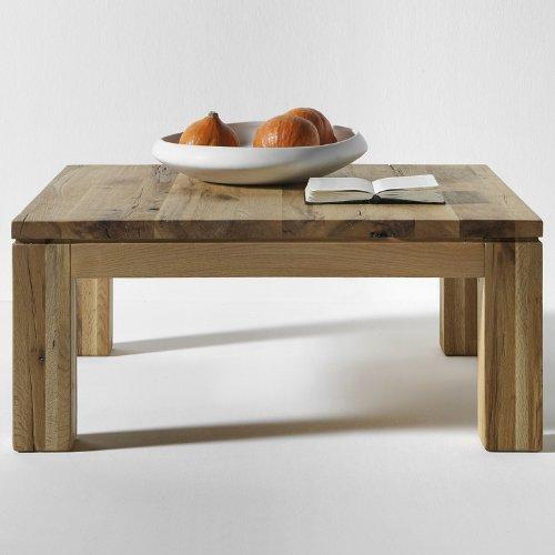 salesfever couchtisch aus massivholz zora 90 x 90cm eiche ge lt skandinavische m bel. Black Bedroom Furniture Sets. Home Design Ideas
