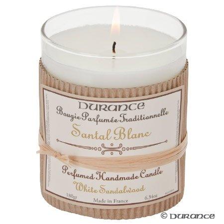 Durance - Duftkerze Sandelholz weiß