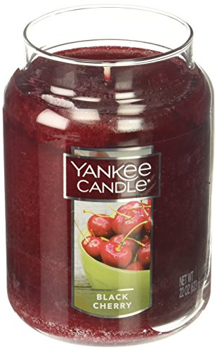 yankee candle 1129749 black cherry grosses jar skandinavische m bel. Black Bedroom Furniture Sets. Home Design Ideas