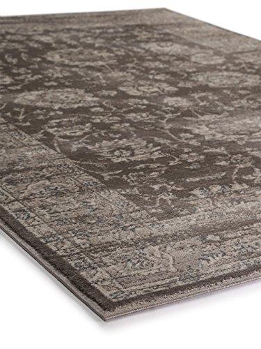 benuta vintage teppich im used look velvet braun 120 170 cm moderner teppich f r schlafzimmer. Black Bedroom Furniture Sets. Home Design Ideas