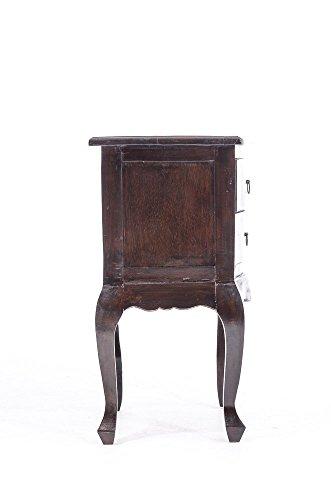 clp beistelltisch king mahagoni holz kolonialstil massiv 2 schubladen ca h he 70 cm. Black Bedroom Furniture Sets. Home Design Ideas