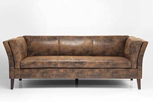 Sofa Canapee 3-Sitzer Vintage Eco Mikrofaser B210xT79xH73 by Kare Design