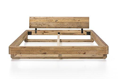 woodkings bett 180x200 mayfield pinie inkl matratze. Black Bedroom Furniture Sets. Home Design Ideas