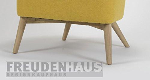 cocktail sessel retro gelb skandinavische m bel. Black Bedroom Furniture Sets. Home Design Ideas