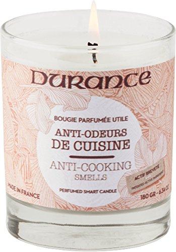 Durance en Provence Serie 'Utiles' - nützliche Duftkerze 'Anti-Küchengerüche' (gegen Küchengerüche) 180 g