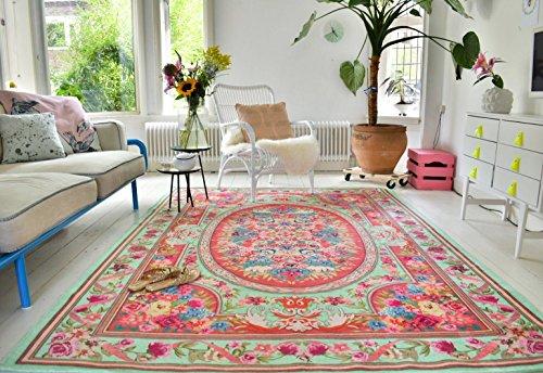 vintage look teppich im angesagten shabby chic look f r wohnzimmer schlafzimmer flur etc. Black Bedroom Furniture Sets. Home Design Ideas