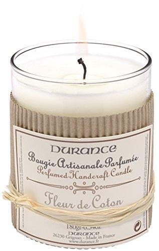 Durance en Provence - Duftkerze Baumwollblüte (Fleur de Coton) 180 g