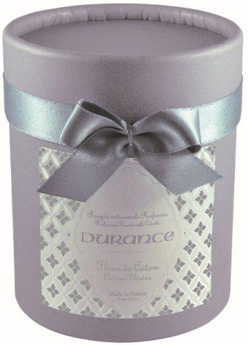 Durance en Provence - Premium Duftkerze Baumwollblüte (Fleur de Coton) 280 g in Geschenkkarton