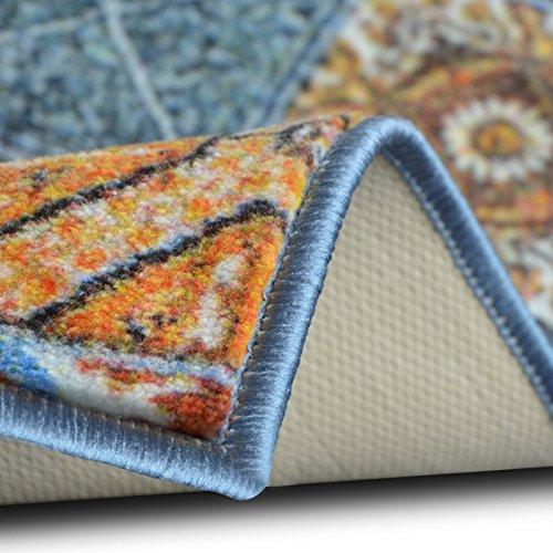 teppichl ufer bonita patchwork muster im vintage look viele gr en moderner teppich l ufer. Black Bedroom Furniture Sets. Home Design Ideas