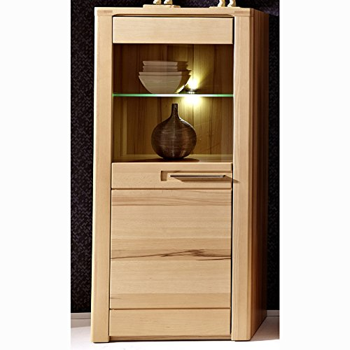 stella trading buche ge lt kernbuche massiv wohnzimmer vitrine schrank holz braun 40 x 60 x. Black Bedroom Furniture Sets. Home Design Ideas