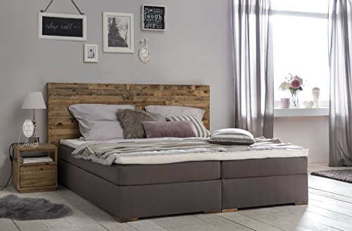 woodkings bett helensville 180x200 hotelbett polsterbett doppelbett taschenfederkern. Black Bedroom Furniture Sets. Home Design Ideas