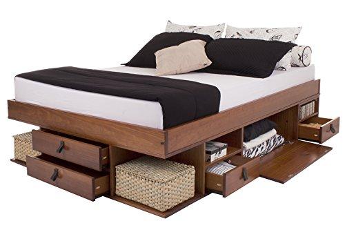 funktionsbett bali 160x200 viel stauraum schubladen. Black Bedroom Furniture Sets. Home Design Ideas