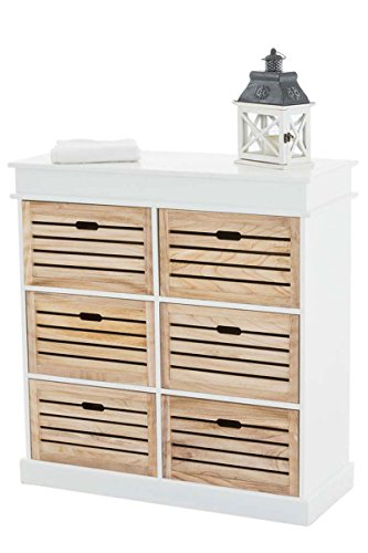 clp schubladen kommode henna v2 im landhaus stil sideboard aus holz ca 95 x 40 cm h he 100. Black Bedroom Furniture Sets. Home Design Ideas