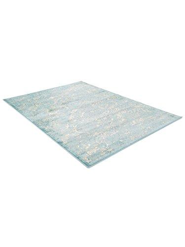 benuta vintage teppich im used look kunstfaser blau 160 x 230 0 x 2 cm skandinavische m bel. Black Bedroom Furniture Sets. Home Design Ideas