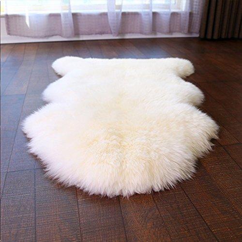 faux lammfell schaffell teppich hlzdh kunstfell dekofell in super weich lammfellimitat teppich. Black Bedroom Furniture Sets. Home Design Ideas