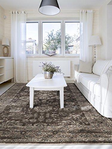 benuta vintage teppich im used look velvet braun 120x170. Black Bedroom Furniture Sets. Home Design Ideas