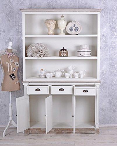 grosser b cherschrank shabby chic regal weiss b cherregal vintage skandinavische m bel. Black Bedroom Furniture Sets. Home Design Ideas