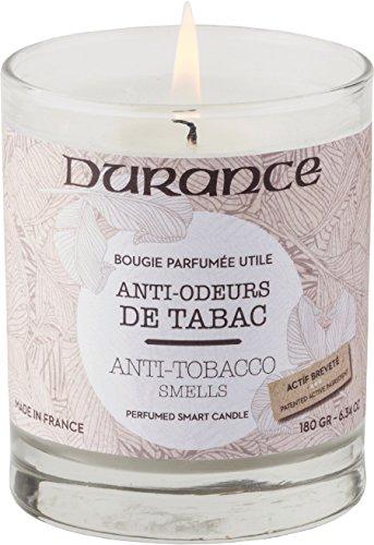 Durance en Provence Serie 'Utiles' - nützliche Duftkerze 'Anti-Tabakgerüche' (gegen Tabakgerüche) 180 g