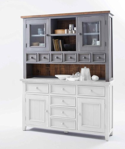 buffet buffetschrank landhaus anrichte esszimmerschrank esszimmervitrine k chenschrank. Black Bedroom Furniture Sets. Home Design Ideas